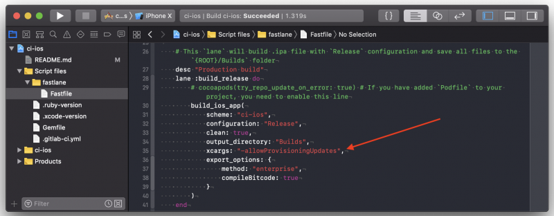 Xcode Provisioning Profile Automation For CI - TestDevLab Blog